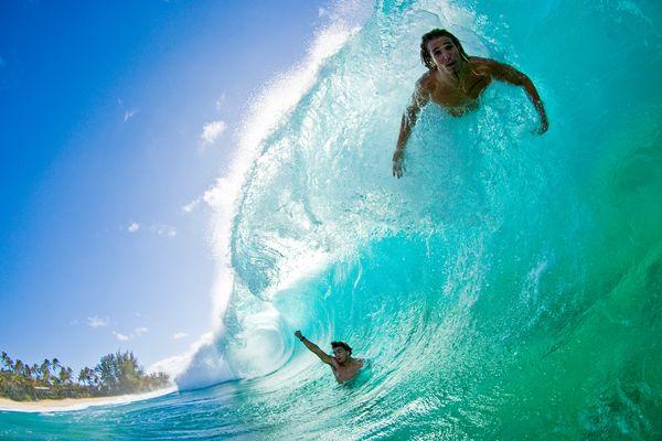Sick wave!
